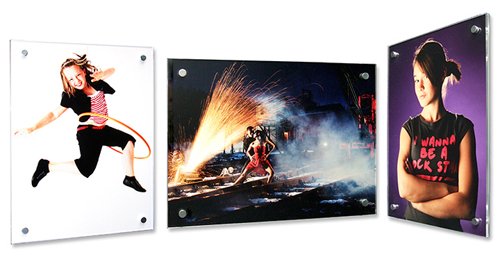professional high quality prints in acrylic frames available online